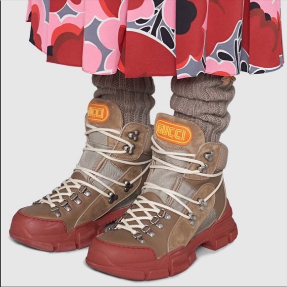Gucci Shoes | Gucci Flashtrek Trekking